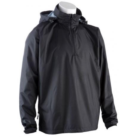 0059 Waterproof Quarter Zip Jacket - Black