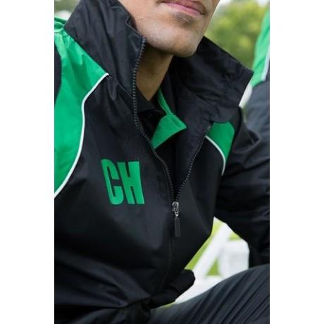 355 Elite Showerproof Plain Black Jacket