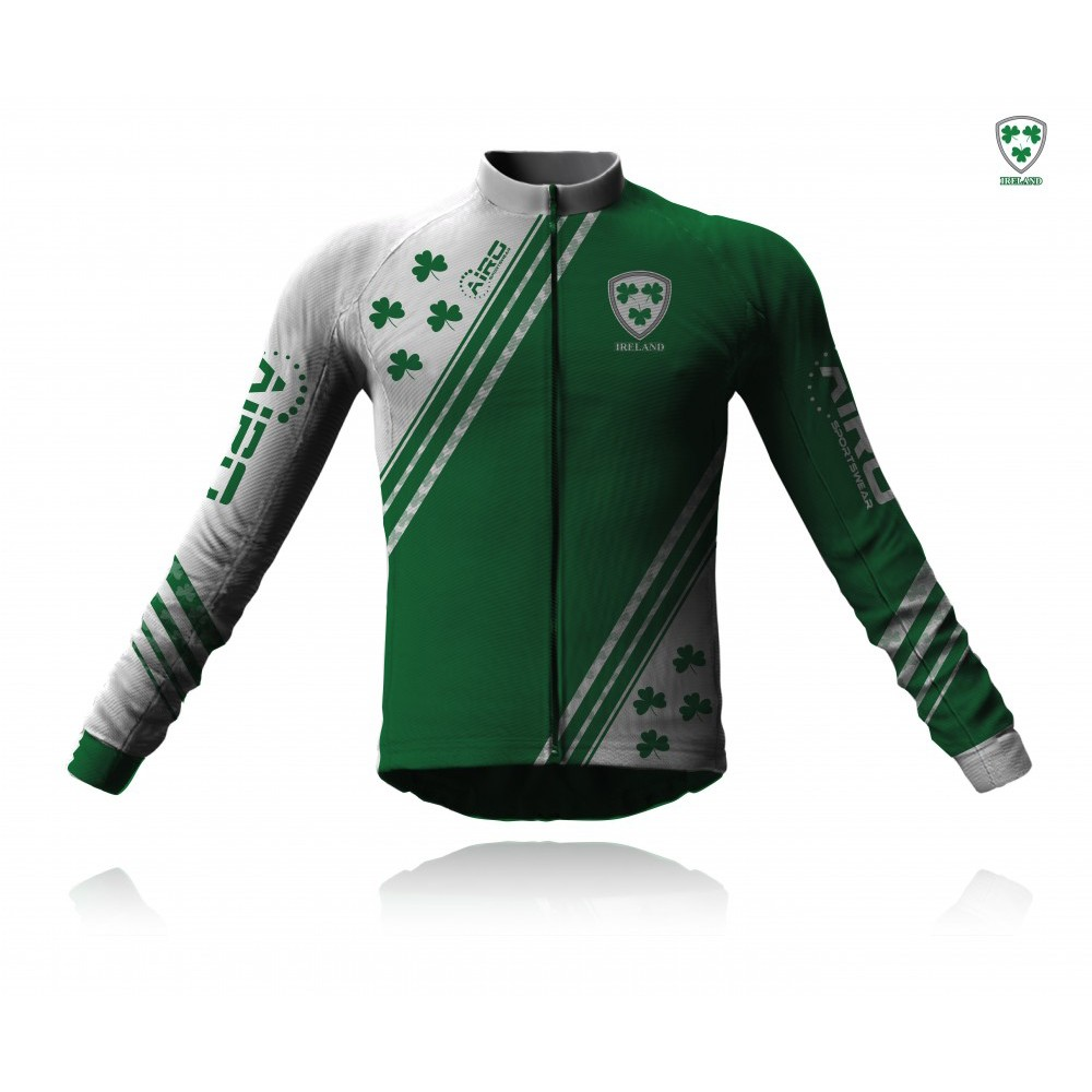 Airosportswear Supporters - Ireland Cycling Jersey Long Sleeve