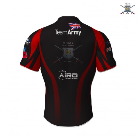 British Army Rugby League Away Shirt