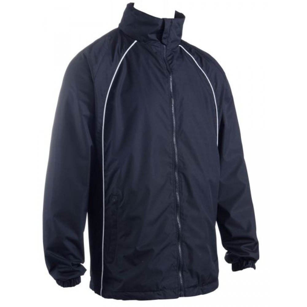 355 Elite Showerproof Plain Navy Jacket