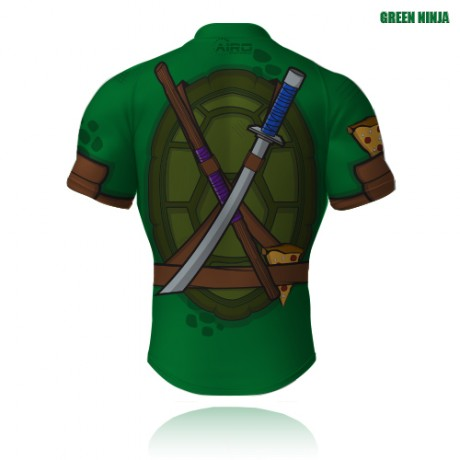 Green Ninja Rugby Jersey