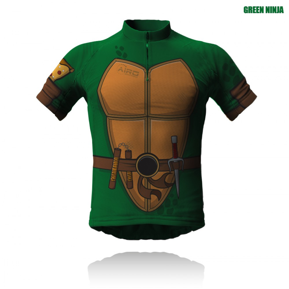Green Ninja Cycling Jersey