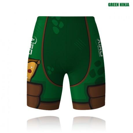 Green Ninja Cycling Shorts