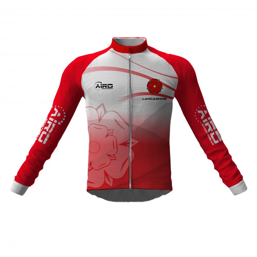 Airosportswear- Lancashire Cycling Jersey Long Sleeve