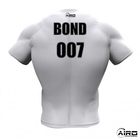 Airosportswear- Tuxedo Rugby Shirt