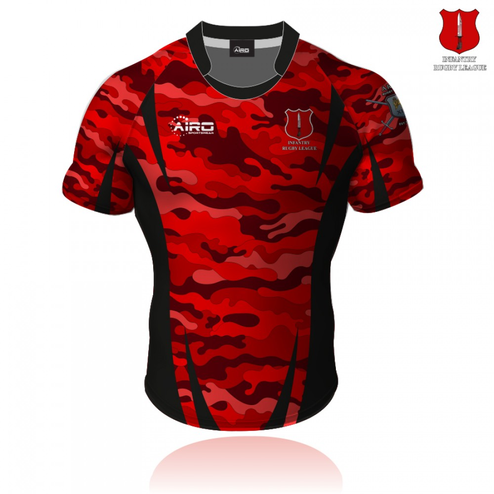 Infantry RL Rugby League Shirt