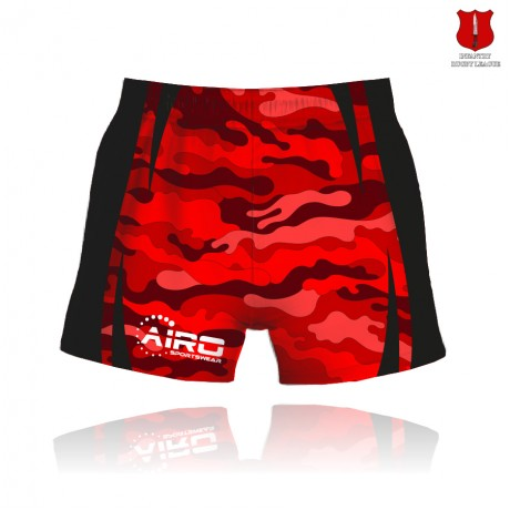Infantry RL Rugby League Shorts