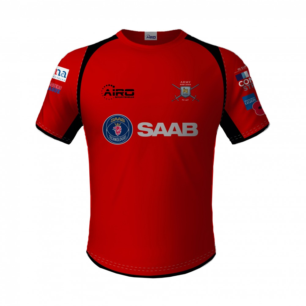 British Army Rugby League Training T-Shirt