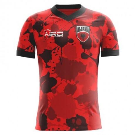 2020-2021 Albania Airo Concept Home Shirt (Xhaka 14)