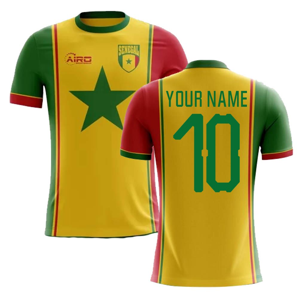 4de35d7bf 2018-2019 Senegal Third Concept Football Shirt (Your Name)