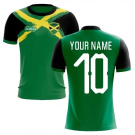 2019-2020 Jamaica Flag Concept Football Shirt (Your Name)