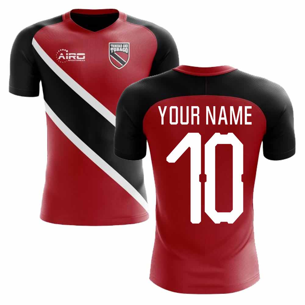 2018-2019 Trinidad And Tobago Home Concept Football Shirt (Your Name)