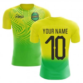 2020-2021 Norwich Home Concept Football Shirt (Your Name) - Kids