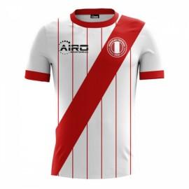 2017-2018 Peru Home Concept Football Shirt
