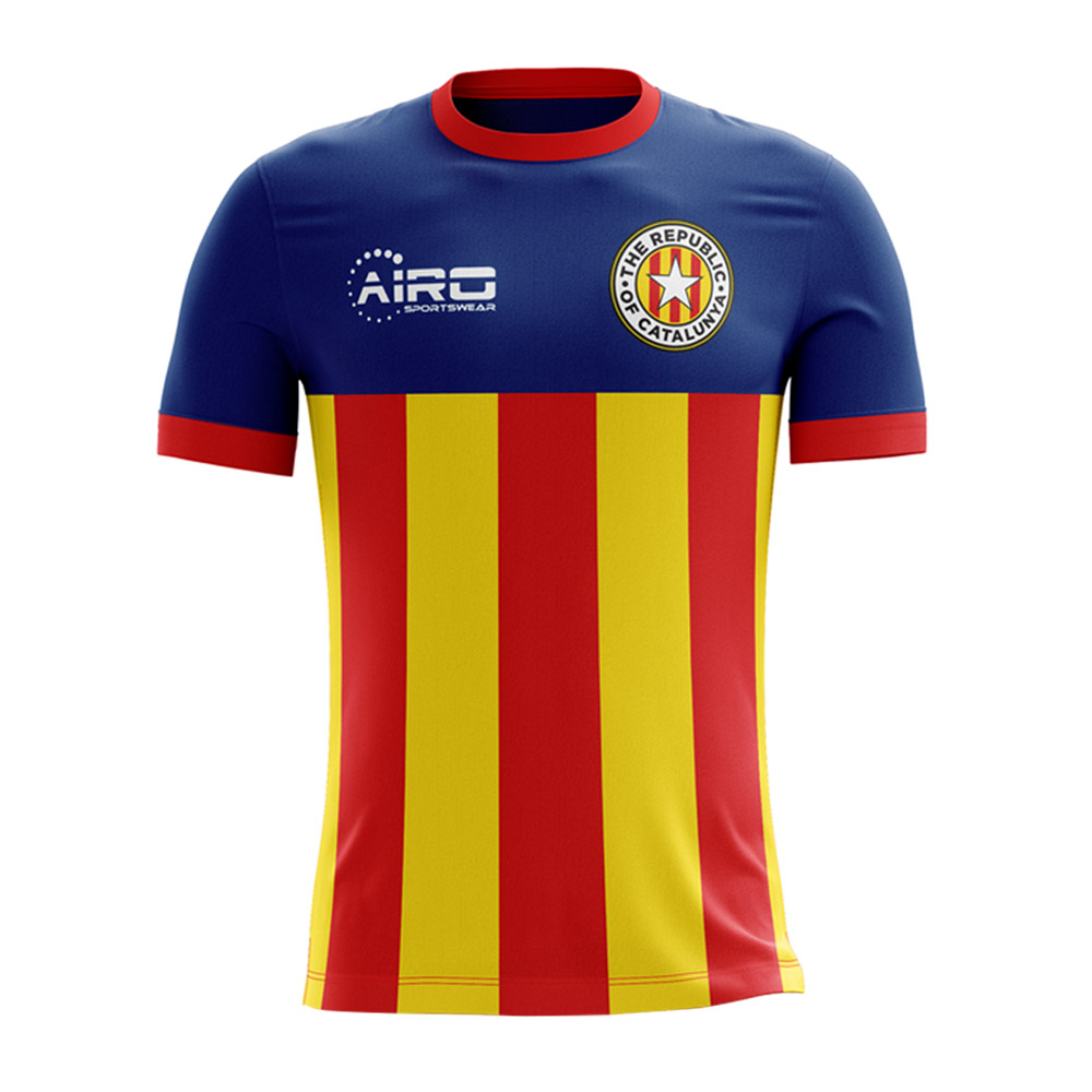 2017-2018 Catalunya Home Concept Football Shirt (Kids)