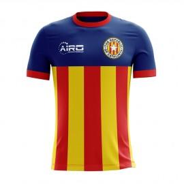 2017-2018 Catalunya Home Concept Football Shirt (Kids)