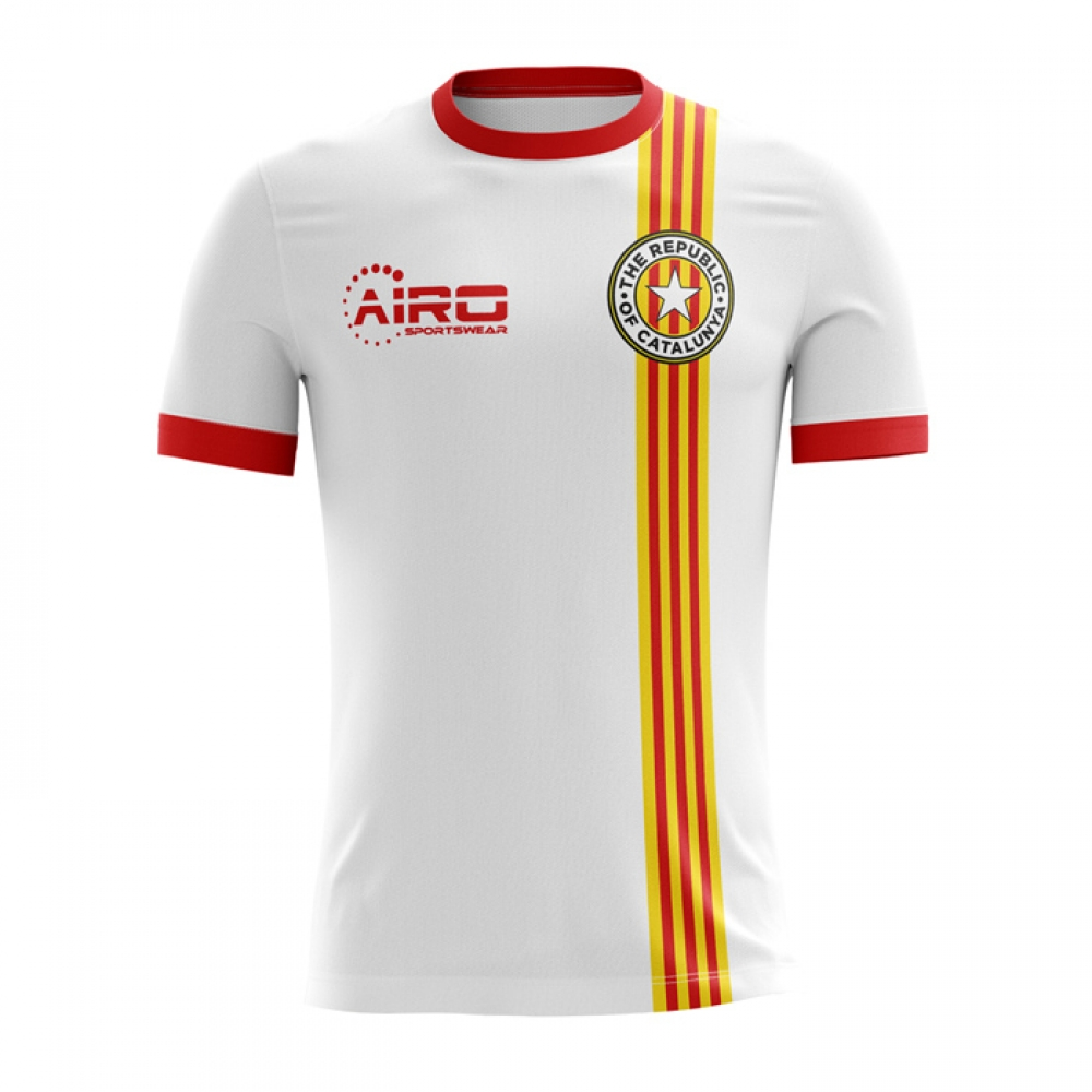 2017-2018 Catalunya Away Concept Football Shirt (Kids)
