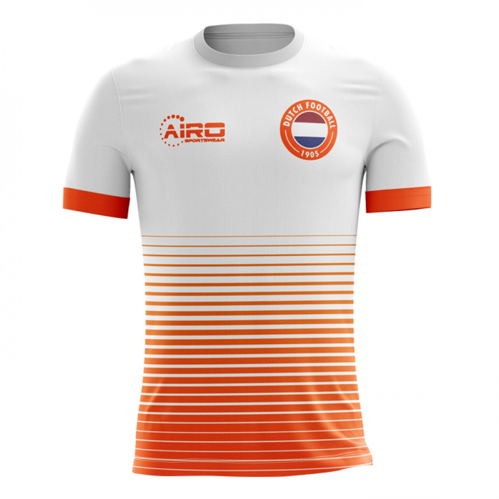 newest f6f82 ace3d 2018-2019 Holland Away Concept Football Shirt - Adult Long ...