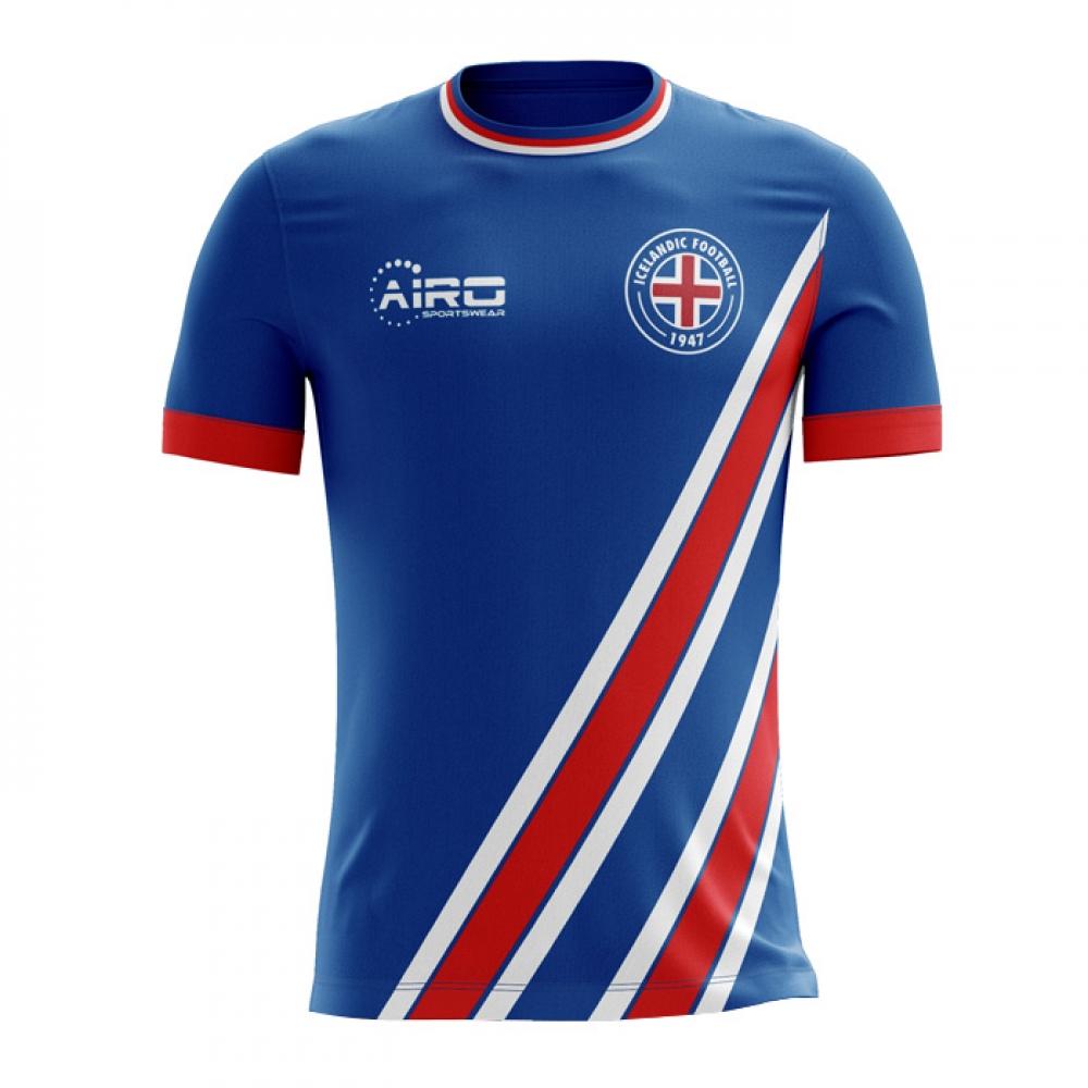 new arrival 3e787 d791d 2018-2019 Iceland Home Concept Football Shirt (Kids