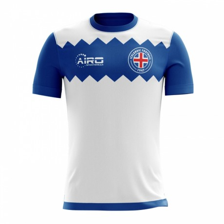 2017-2018 Iceland Away Concept Football Shirt