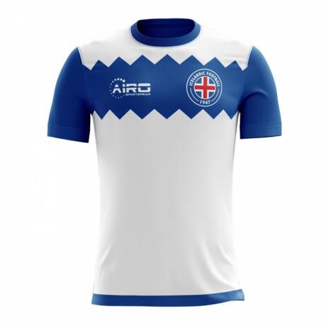 2017-2018 Iceland Away Concept Football Shirt
