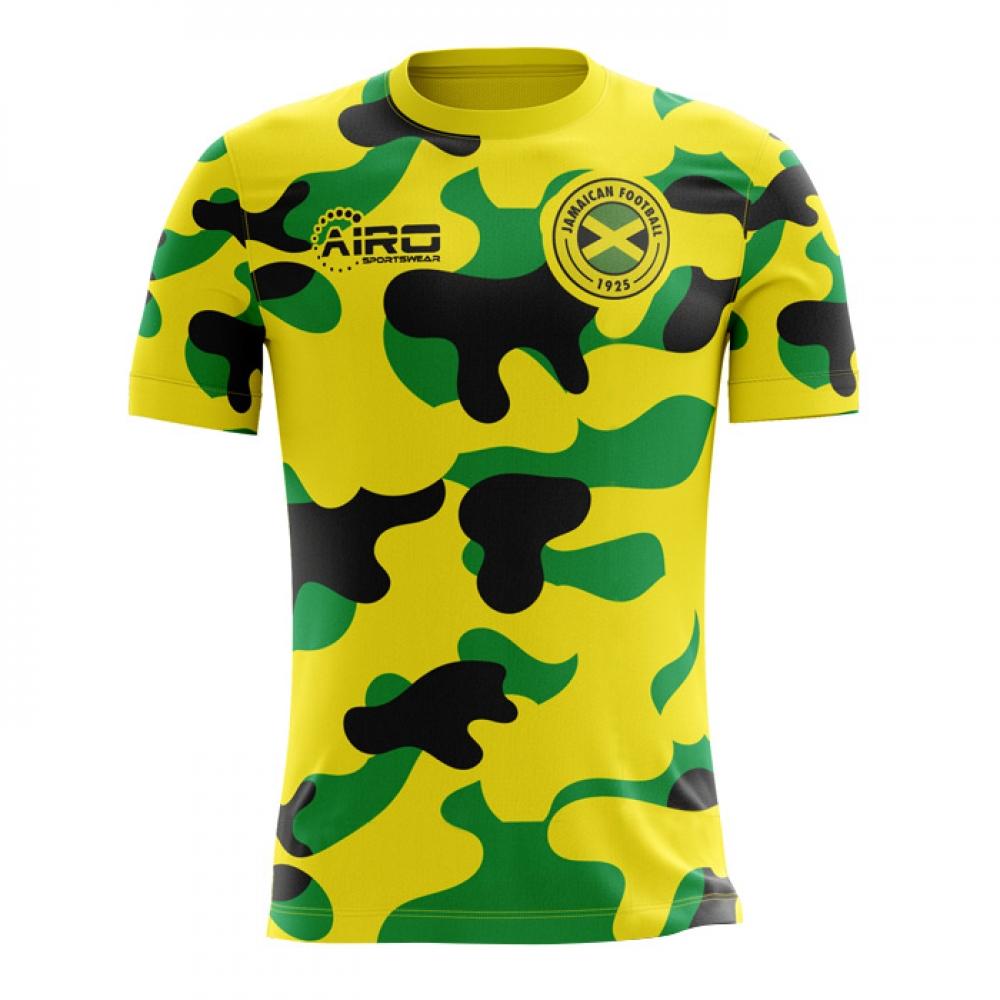 2018-2019 Jamaica Home Concept Football Shirt