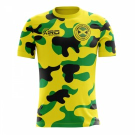2018-2019 Jamaica Home Concept Football Shirt (Kids)