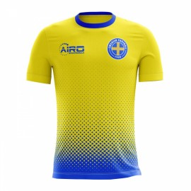 c159466709d 2018-2019 Sweden Away Concept Football Shirt (Kids)