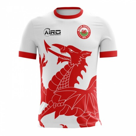 2018-2019 Wales Away Concept Football Shirt - Baby
