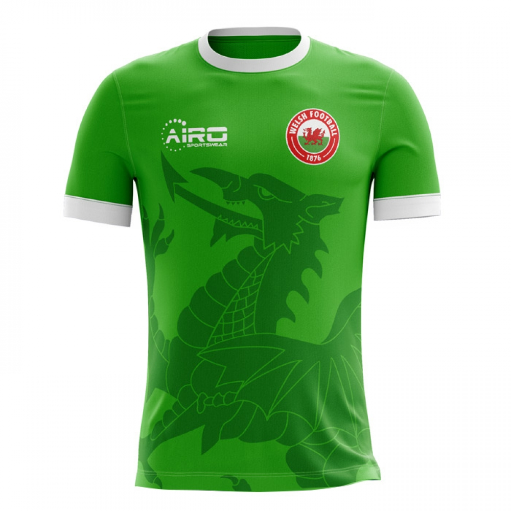 2018-2019 Wales Third Concept Football Shirt