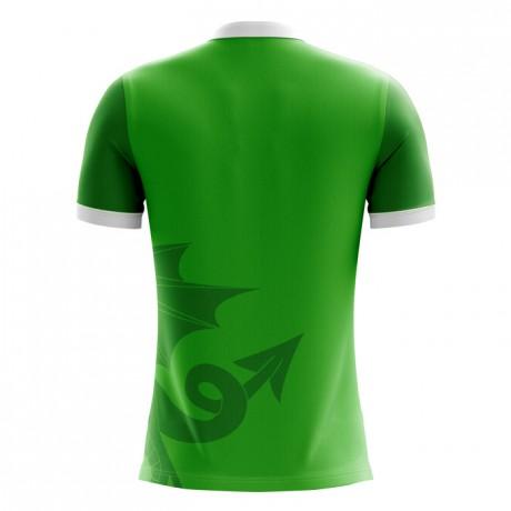 2018-2019 Wales Third Concept Football Shirt - Adult Long Sleeve