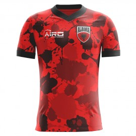 2020-2021 Albania Home Concept Football Shirt (Kids)