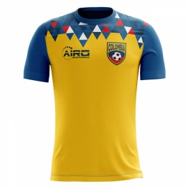 2020-2021 Colombia Home Concept Football Shirt (Kids)