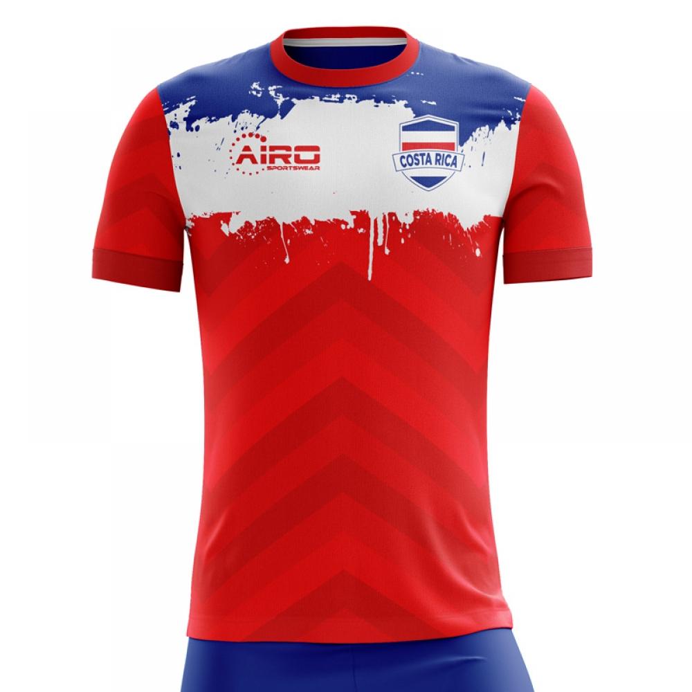 4783b867ef2 2018-2019 Costa Rica Home Concept Football Shirt (Kids)