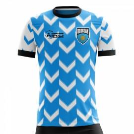 2020-2021 Uruguay Home Concept Football Shirt