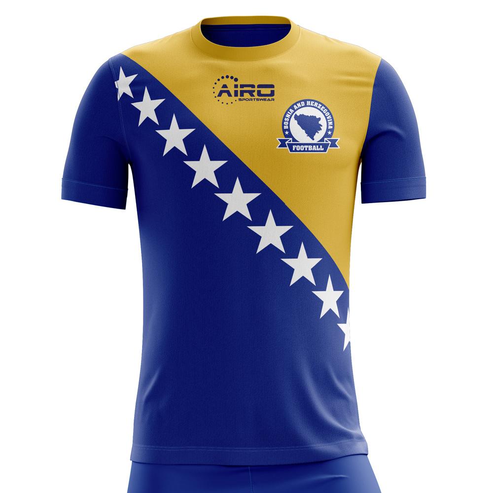 9561fd681 2018-2019 Bosnia Herzegovina Home Concept Football Shirt (Kids)