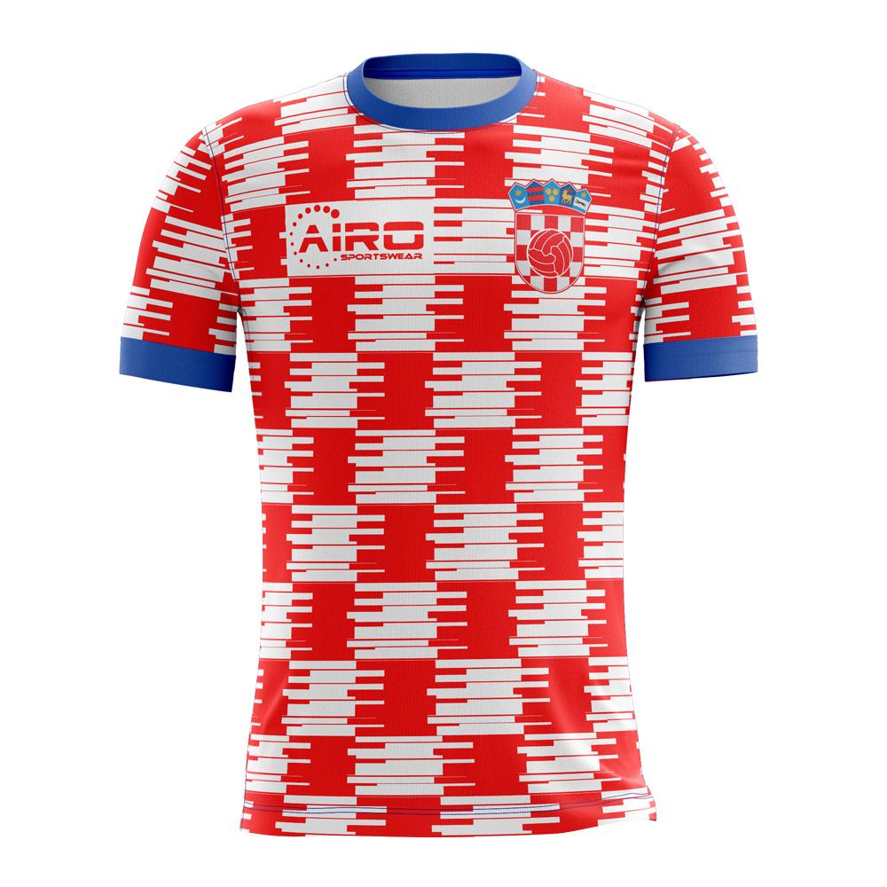 4badd585422 2018-2019 Croatia Home Concept Football Shirt