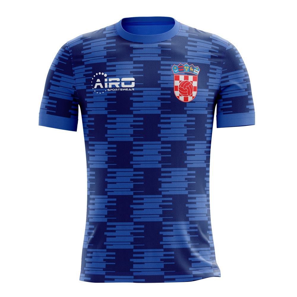 090e56e872e6 2018-2019 Croatia Away Concept Football Shirt (Kids)