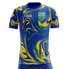 2018-2019 Brazil Away Concept Football Shirt (Kids)