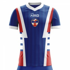 2018-2019 Yugoslavia Home Concept Football Shirt
