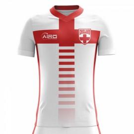 2020-2021 England Home Concept Football Shirt