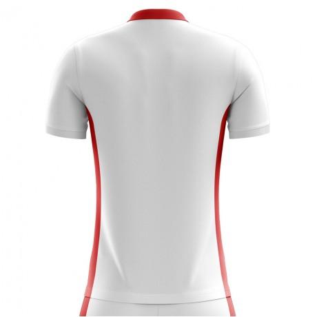 ea5923b91bf 2018-2019 England Home Concept Football Shirt (Kids)