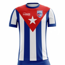 2018-2019 Cuba Home Concept Football Shirt - Womens