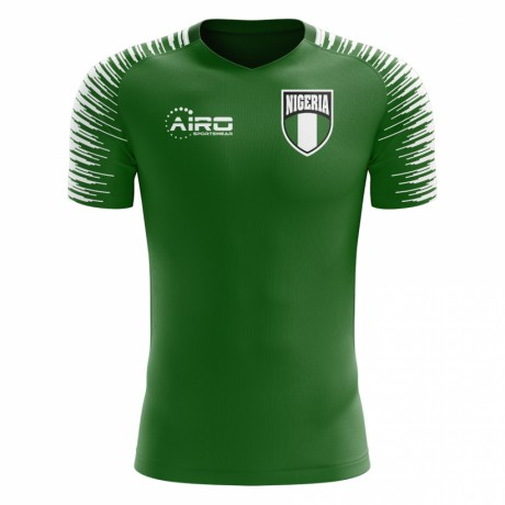 2018-2019 Nigeria Home Concept Football Shirt - Little Boys
