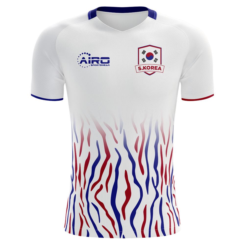 4c1834be59fe 2018-2019 South Korea Away Concept Football Shirt (Kids)