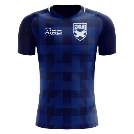 2018-2019 Scotland Tartan Concept Football Shirt