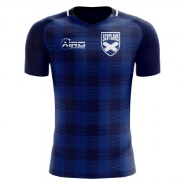 2018-2019 Scotland Tartan Concept Football Shirt (Kids)
