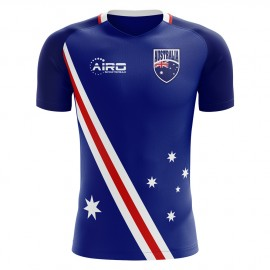 2018-2019 Australia Flag Away Concept Football Shirt (Kids)