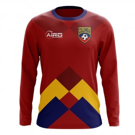 2020-2021 Colombia Long Sleeve Away Concept Football Shirt (Kids)
